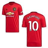 adidas Manchester United Trikot Home Kinder 2020 - RASHFORD 10, Größe:140