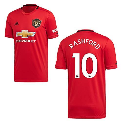 adidas Manchester United Trikot Home Herren 2020 -RASHFORD 10, Größe:L