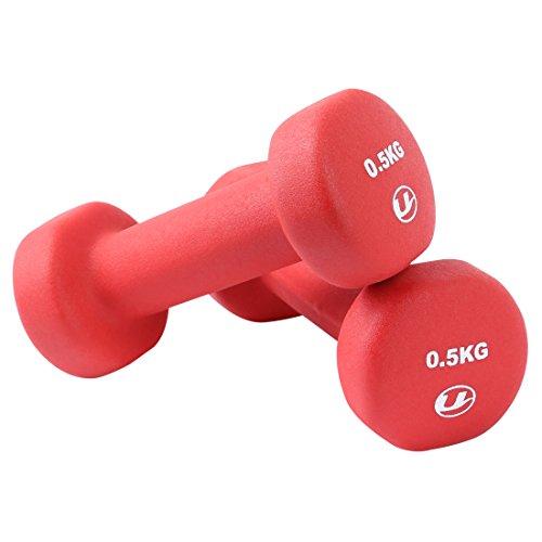 Ultrasport Unisex Adult - Conjunto de 2 mancuerna de fitness de 0.75kg