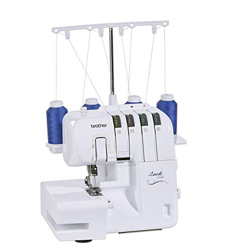 Brother 2104D Overlock Nähmaschine, Weiß