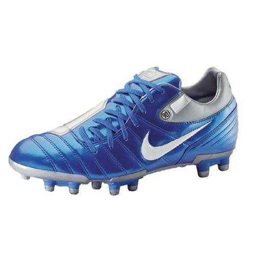 Nike FußBallschuh Total 90 Shift SG, Größe 11, Blau/Silber/Weiß