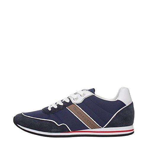 Trussardi Jeans 77S524 Blu Sneakers Uomo Scarpa Sportiva Casual