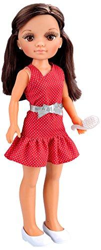 Nancy, Un día con Amigas, morena con vestido rojo (Famosa 700013444)