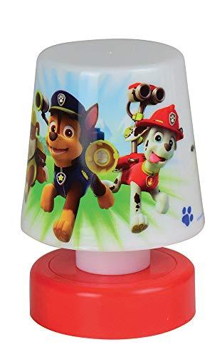 FUN HOUSE 713122 Pat Patrol - Luz nocturna con pulsador para niños, color rojo