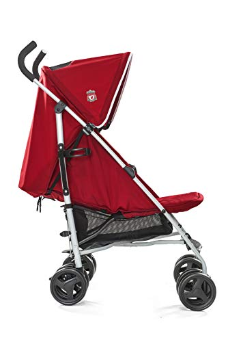 Joie Nitro LFC Umbrella Pushchair/Stroller, Red Crest Joie Sleek and lightweight umbrella chassis weighing just 7.52kg Suitable from birth with flat reclining seat SoftTouch, 5-point harness with shoulder covers 4