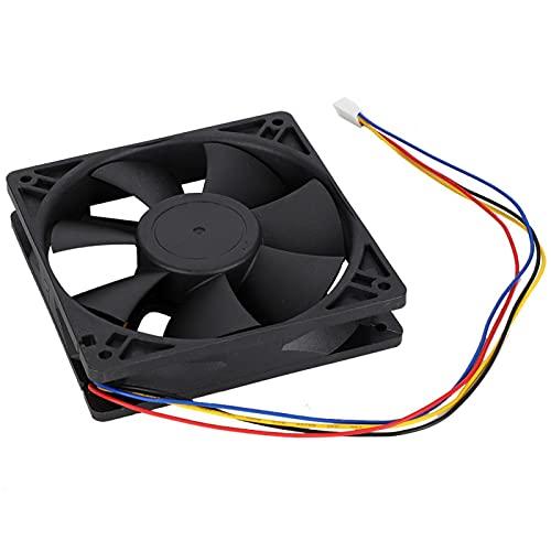 Ventilador De Refrigeración, Ventilador De Refrigeración con Disipador De Calor De Doble Rodamiento De Bolas para Computadora, Caja De Pc, Reemplazo De Reparación De Impresora 3D