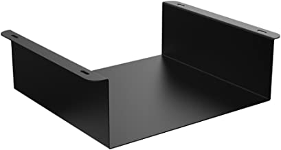 Oeveo Under Mount 242-12W x 4H x 11D | Under Desk Computer Mount for Small Form Factor SFF Computers from HP, Dell, and Lenovo | UCM-242