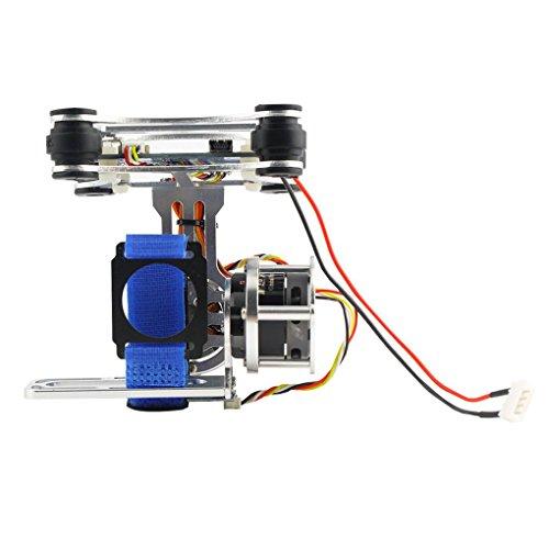 shangjunol Für DJI Phantom Gopro 3 4 Licht CNC Brushless Motor Kamera Gimbal mit BGC-Controller RTF