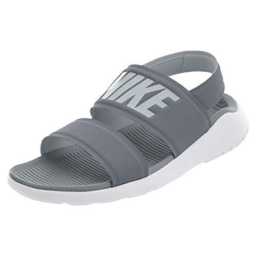 Nike Womens Tanjun Sandal Cool Grey/Pure Platinum/White 882694-002 (6 B(M) US)