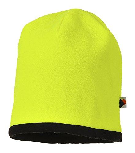 Portwest HA14YBR hoed omkeerbaar hoge zichtbaarheid, geel