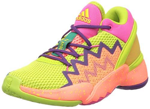 Adidas Boy's Red Basketball Shoes - 11 UK