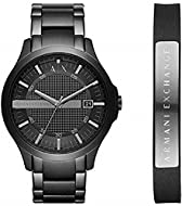 Armani Exchange Mens Analogue Quartz Watch with Stainless Steel Strap AX7101