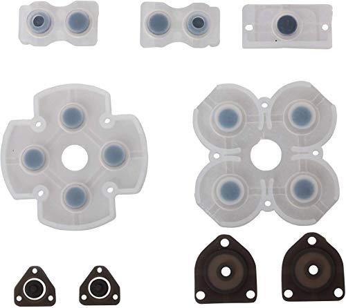Timorn Piezas de repuestofijó Todo de Key Control de botón de Almohadilla conductora Botones Kit para Playstation 4 PS4 (1 Set)
