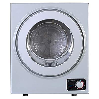 electriQ 2.5kg Mini Freestanding Vented Tumble Dryer - Silver