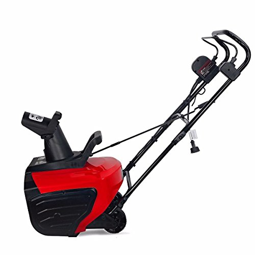 New KCHEX>Home Drive Way 18-Inch 1600 watt Electric Snow ice Thrower 180 Adjustable Chute>ETL Certif...