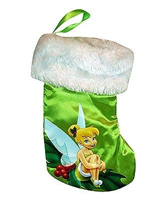 Tinkerbell Mini Satin Christmas Stocking