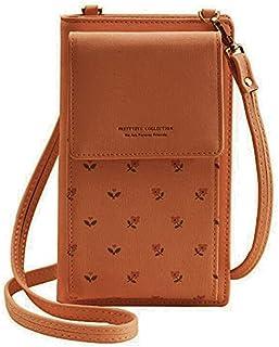 محفظة مصنوعة من الجلد عالي الجودة وبسعة كبيرة للنساء - حافظات كروت وبطاقات هوية، من فور ايفر يونج