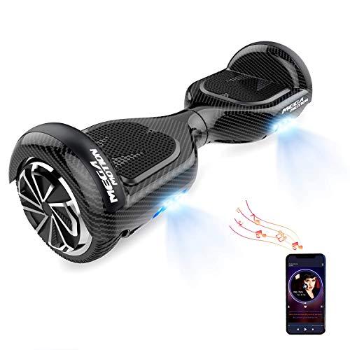 HITWAY Hoverboard Bluetooth 6,5 Pulgadas Scooter eléctrico Self Balance Scooter E Hover Board para niños y Adolescentes