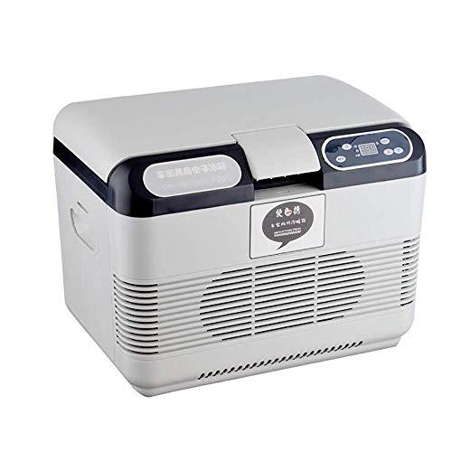 OutingStarcase Enfriar eléctrica caja 15L del coche Refrigerador portátil coche Inicio de Doble Uso Pequeño calefacción y refrigeración Congelador 12v / 24v utilizar for el recorrido de la comida camp