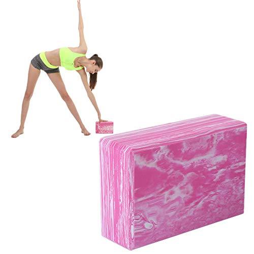 HEELPPO Yoga Block Bloque De Yoga Kit Ejercicio En Casa Soporte para Yoga Pilates Bloques para Yoga Pilates La Cabeza De Yoga Pink,2pcs