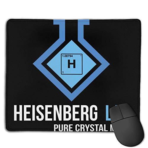 Breaking Bad Heisenberg Lab Pure Crystal Meth Kundenspezifische Designs Rutschfeste Gummibasis Gaming-Mauspads für, 22 cm & mal; 18 cm, PC, Computer. Ideal zum Arbeiten oder Spielen
