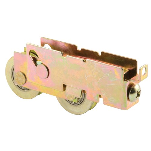 Prime-Line Products D 1845 Sliding Door Tandem Roller Assembly, 1-1/4-Inch Steel Ball Bearing