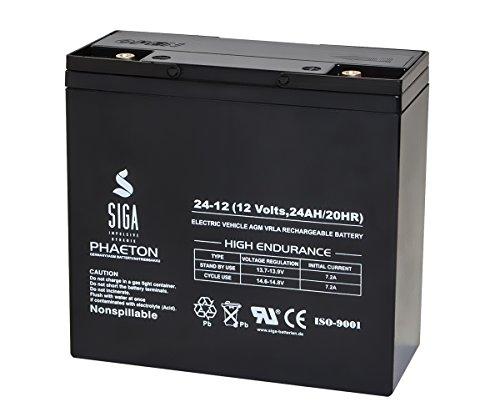 SIGA S24-12 Batterie 12 V/24 mAh