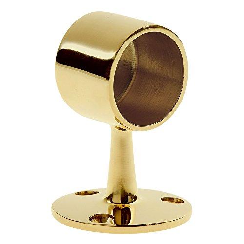Lavi 1-1//2 Polished Brass Flush Center Post