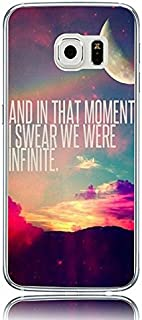 Galaxy S7 Slim Case Protective Cover for Samsung Galaxy S7 And in That Moment I Swear We were Infinite