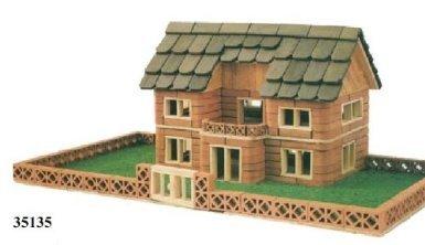 Casa Keranova de ladrillos en kit de construcción. Keranova 35135