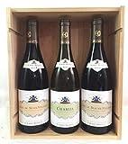 Coffret Grands Vins de Bourgogne - Maison Albert Bichot : 1 Chablis 2017 + 1 Côtes de Nuits 2013 + 1 Côtes de Beaune 2012 !