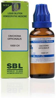 SBL Cinchona Officinalis China 1M CH Directly managed store Sale for Anaemia 1000 30ml