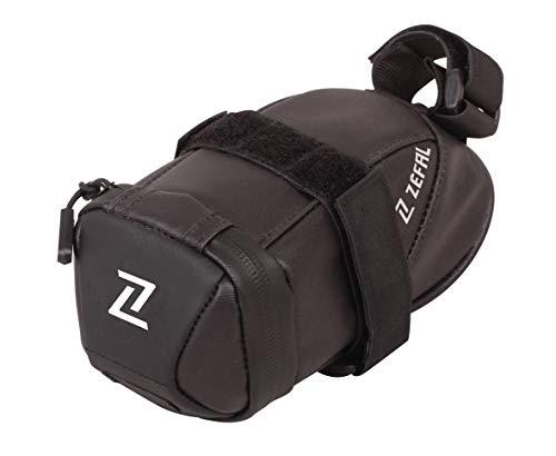Zefal Iron Pack 2 DS Bolsa de sillín, Unisex Adulto, Negro, Small