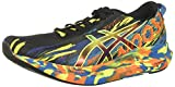 ASICS Men's Noosa Tri 13 Running Shoes, 10, Black/Sour Yuzu