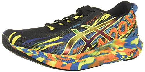 ASICS Men's Noosa Tri 13 Running Shoes, 8M, Black/Sour Yuzu