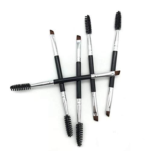 1 pc Visage Maquillage Outils Double Têtes Extrémités Cils Sourcils Ombre à Paupières Pinceau Femmes Fille
