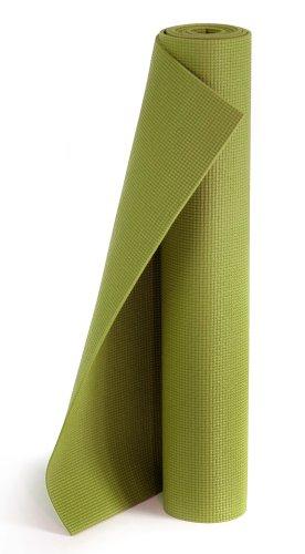 Yogistar Yogamatte Plus - rutschfest und extra lang - Kiwi