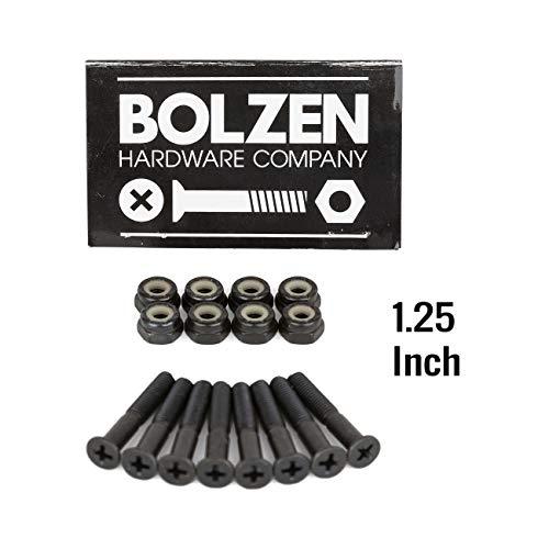 Bolzen Nuts n Bolts 1.25 Zoll Skateboard Schrauben Montage Satz Senkkopf Kreuz