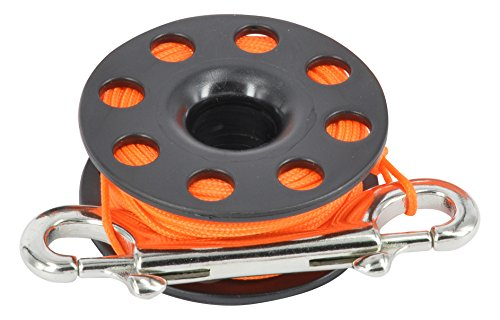 Best Divers ml0056or, carrete Buceo Unisex–Adulto, Naranja, 30metros