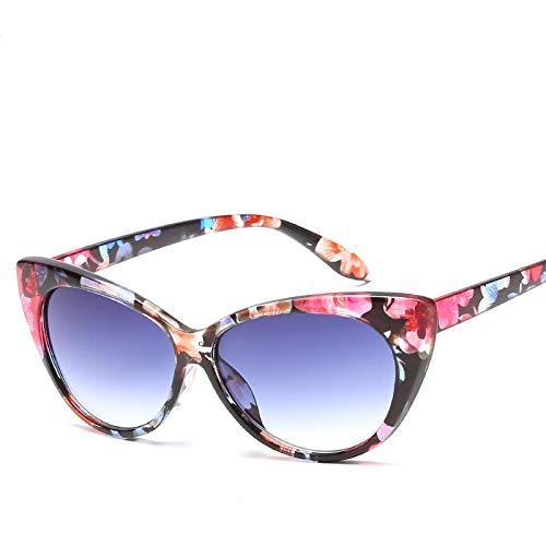 Sunglasses Gafas de Sol Gafas De Sol Retro Sexy Cateye para Mujer, Gafas De Sol De Diseñador Vintage Cate