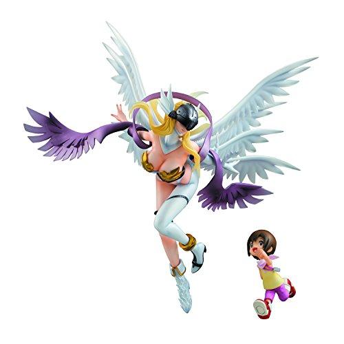 Megahouse Digimon Adventure: Angewomon & Hikari G.E.M. PVC Figure