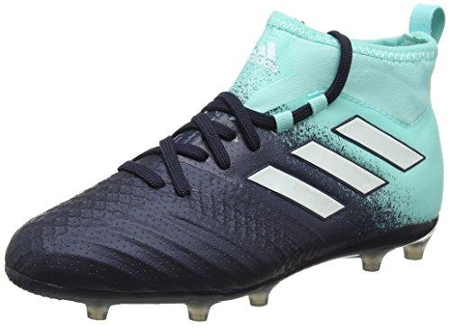 adidas Ace 17.1 Fg, Scarpe da Calcio Unisex-Bambini, Blu (Energy Aqua/Legend Ink/Mystery Ink), 32 EU