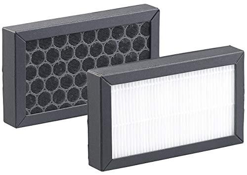 Carlo Milano Zubehör zu Nebler-Luftbefeuchter: Ersatz-HEPA- & Aktivkohle-Filter für Luftreiniger LBF-400 & LBF-600 (Ultraschall-Aroma-Luftbefeuchter)
