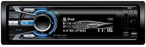 Sony DSX-S200X 52W Negro Receptor Multimedia para Coche - Radio para Coche (FM,LW,MW, USB, Negro, 52 W, AAC,MP3,WMA)