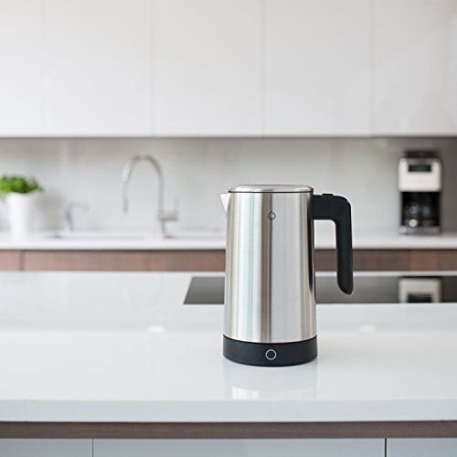 Smarter SMKET01-UK iKettle, 3rd Generation, Stainless Steel Smart Kettle with WiFi, Digital temperatures, 3000 W, 1.8 litres, 1.8 liters