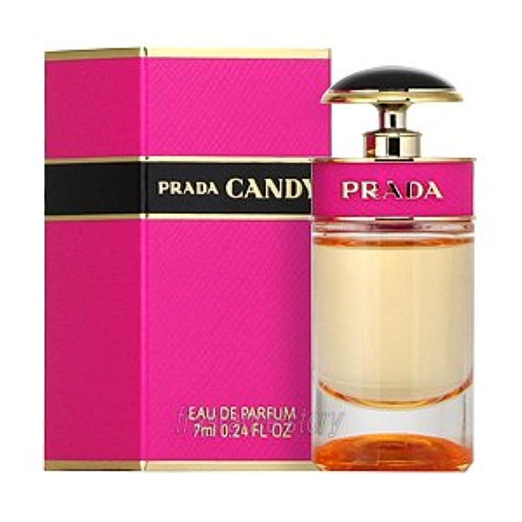スズメバチ離れて広々としたプラダ PRADA キャンディ オードパルファム 7ml EDP ミニ香水 ミニチュア fs