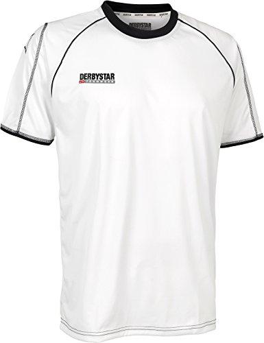 Derbystar Uni - Camiseta de equipación, tamaño M, Color Blanco/Negro