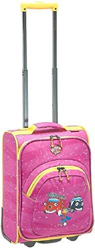 Travelite Robuste, fröhliche Kinderkoffer und Gepäckstücke Helden der Stadt machen jede Reise zum Abenteuer Kindergepäck, 24 Liter, Pink