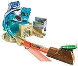 Hot-Wheels Mega Playset Sfida Lo Squalo per Macchinine con Un Lanciatore, Gioco per Bambini di 4 + Anni, FNB21, Imballaggio Standard, Norme