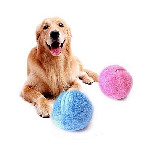 Alftek Mini Fluffy Automatische Roller Ball Hundespielzeug Katze Pet Spielzeug Haushalt Mopp Ball Staub Reiniger